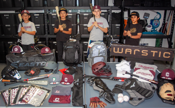 gear baseball colton robbery