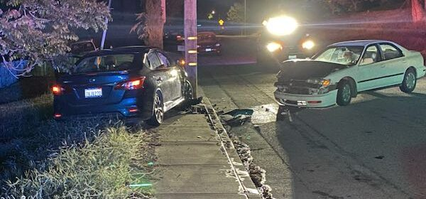 Driver crashes into parked car