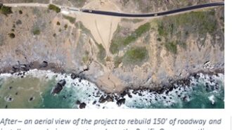 Highway 1 at Rat Creek to open to traffic at noon on Friday
