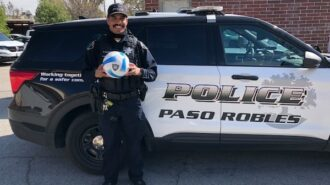 Paso Robles Police giving away free soccer balls to local youth