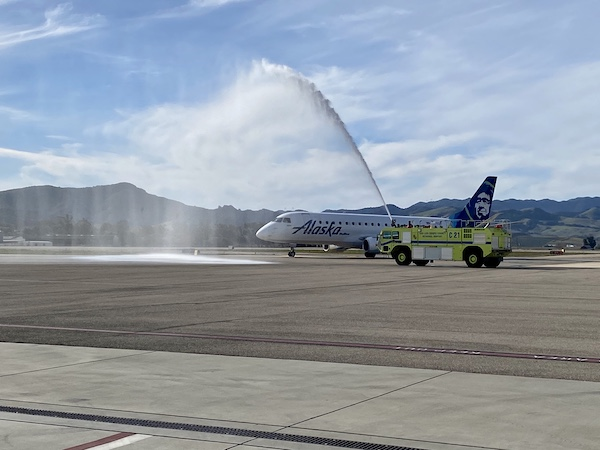 San Diego and Portland services out of SLO Airport both begin June 17