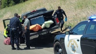 Traffic collision on Highway 101 reported after driver has seizure