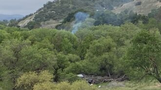 Vegetation fire reported in Salinas Riverbed