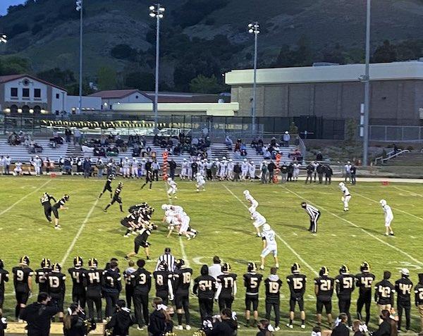 The Templeton Eagles beat San Luis Obispo on their field, 20-13.