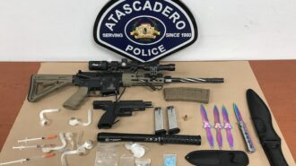 Atascadero man arrested for weapons, narcotics