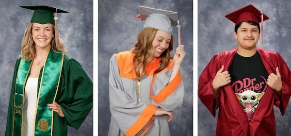 Free cap and gown photoshoots offered to local graduates