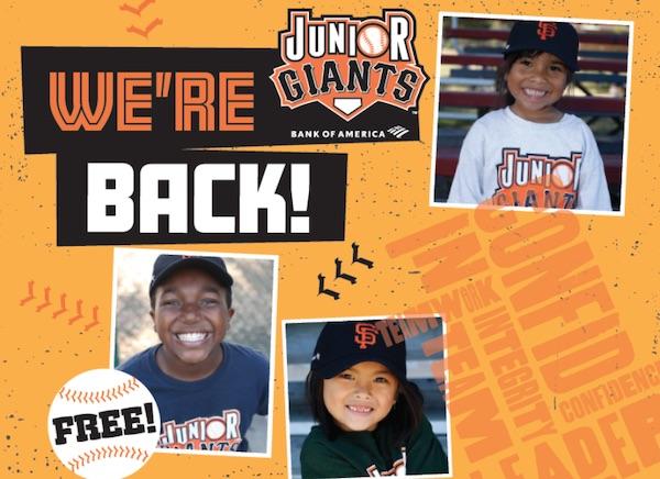 Junior Giants returns this summer