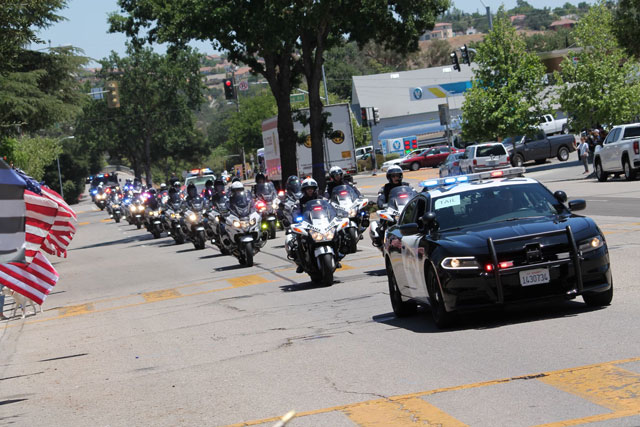 SLO Police officer killed buried in paso robles