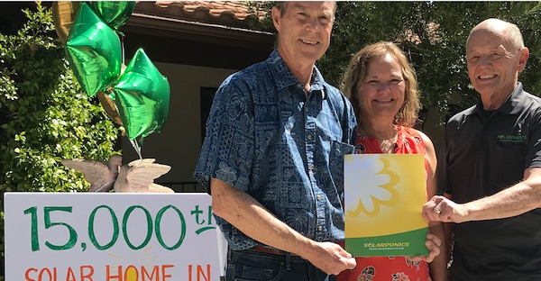 San Luis Obispo County now has 15,000 solar homes