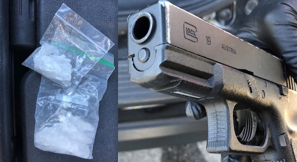 Arrest made for illegal possession of replica gun, narcotics for sale