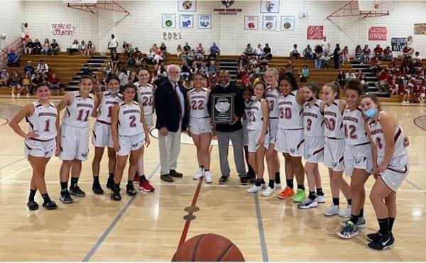 Bearcat girls basketball team finishes second place in CIF