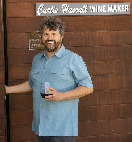 Curtis Hascall, Shale Oaks Winemaker