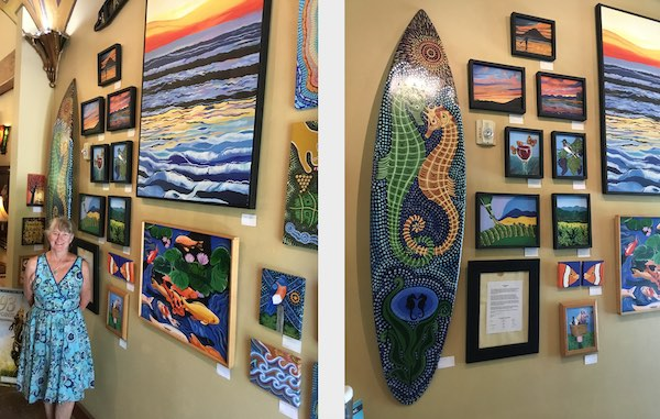 Featured Artist at Sculpterra Winery for June and July is Melissa Pittenger