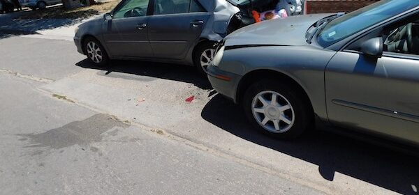 Man has medical event that causes him to crash into parked car
