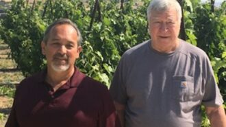 Rabbit Ridge Winery and Vineyards Owner Steven Jones and Winemaker Erich Russell