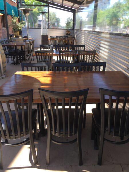 parklet for Odyssey World Cafe