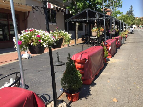 parklets for Basil and Taste! Craft Eatery