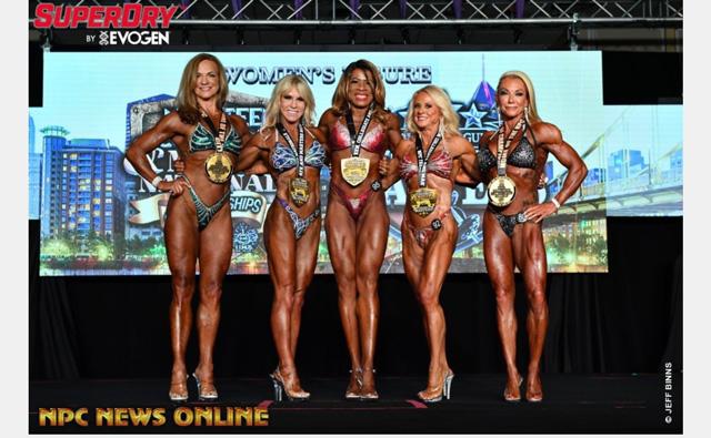 Update: Local woman defends pro bodybuilding figure title, places second