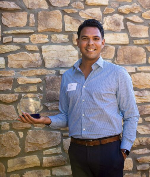 Ricky Lugo, director of hospitality & direct to consumer sales for Nenow Family Wines