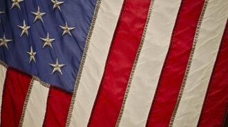 american flag veteran
