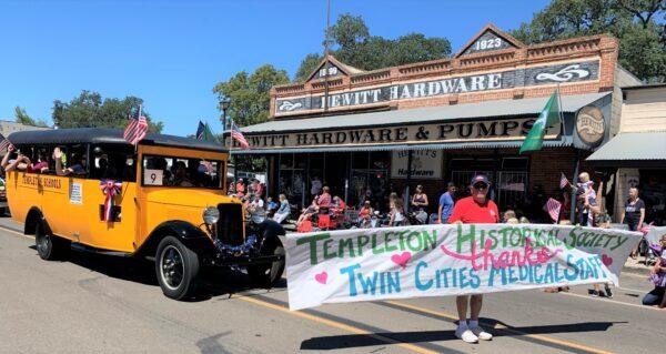 templeton parade honors medical