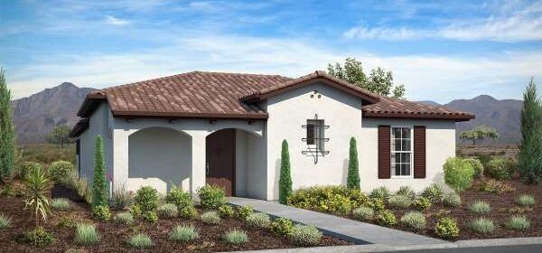The first tract homes since 2007 under construction in Paso Robles
