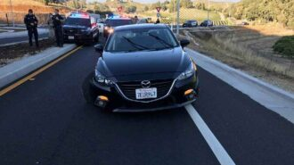 Traffic stop on Highway 41 turns into vehicle pursuit, ends in arrest