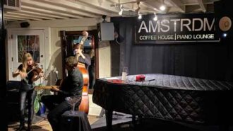Trio Dinica performs at Amstrdm in Paso Robles
