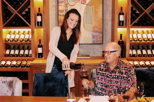 Tasting at Law Estate Wines.