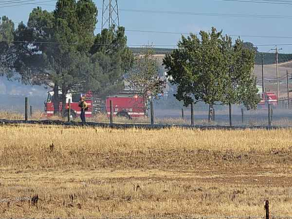photo of fire paso robles