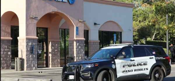 robbery chase bank paso robles